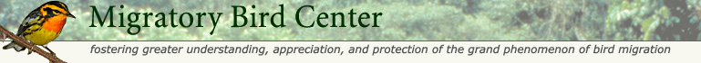 Smithsonian Migratory Bird Center main page