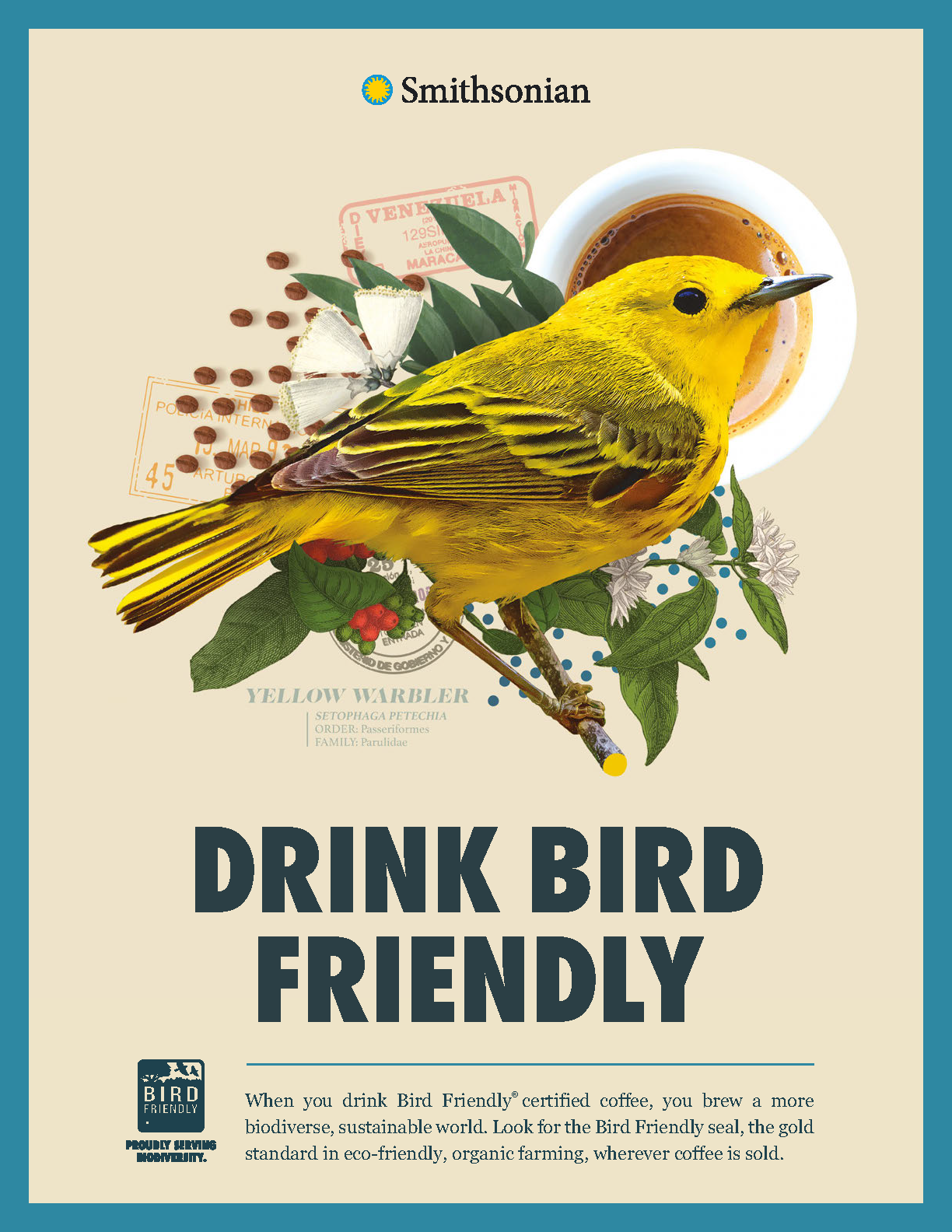 Bird Friendly Coffee Flyer