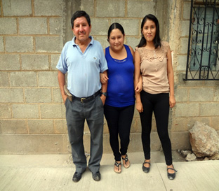 José, Gloria and one daughter