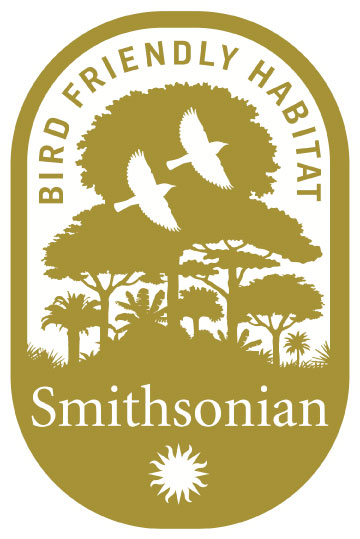 bird friendly coffee logo