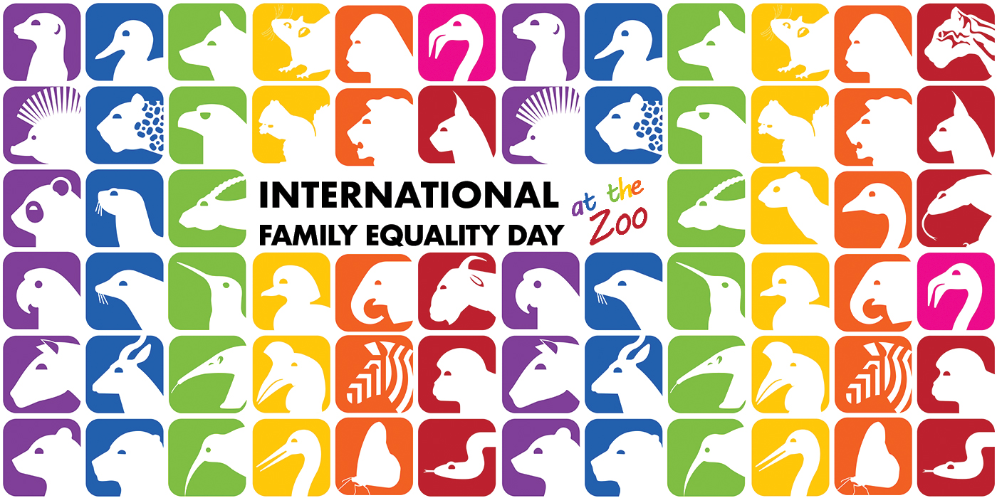 Celebrating International Family Equality Day at the Zoo