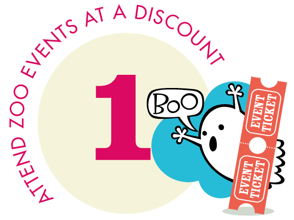 Attend zoo events at a discount