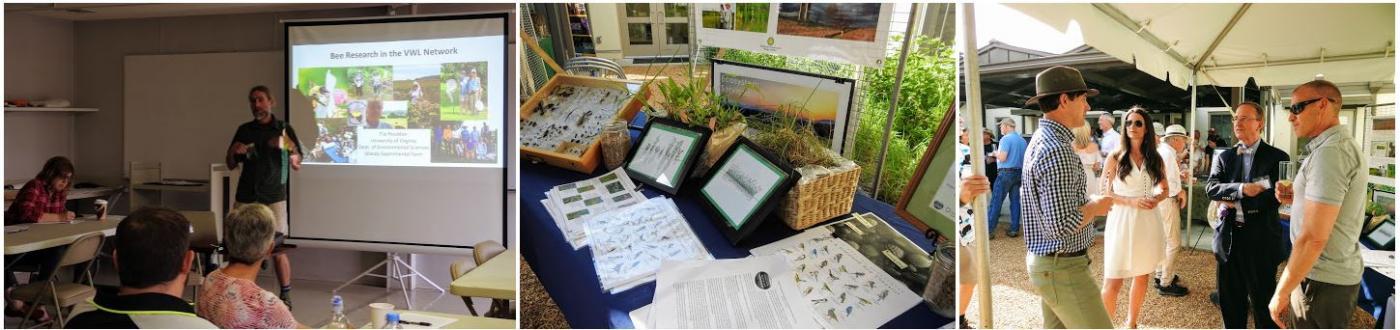 Virginia Working Landscape scientists educate the public