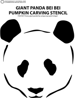 picture about Pumpkin Cut Out Printable known as Halloween Pets: Improved with Pandas and Pumpkins