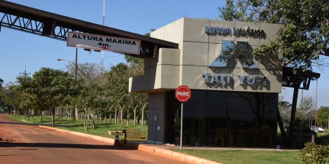 the entrance to ITAIPU Binational, Peru