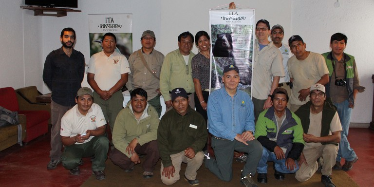 Inkaterra and Smithsonian colleagues pose for group picture