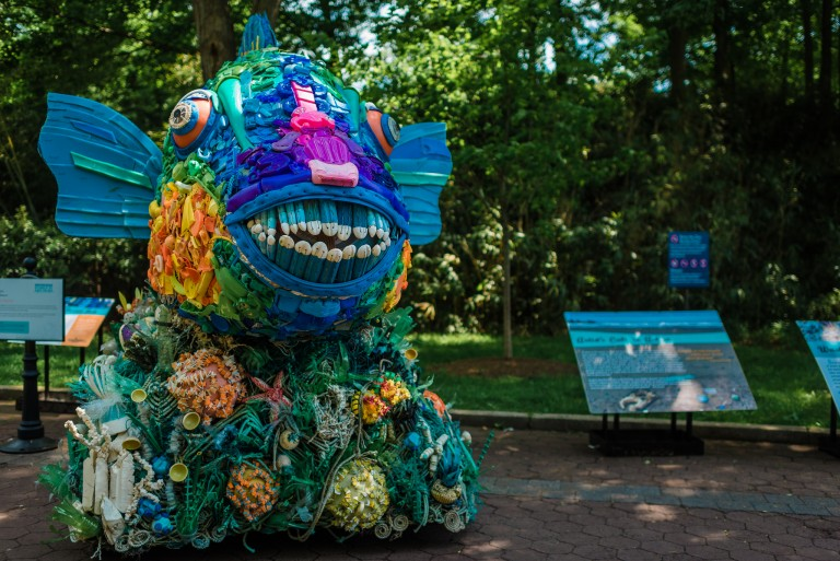 Washed Ashore: Art to Save the Sea Opens at the Smithsonian's National Zoo