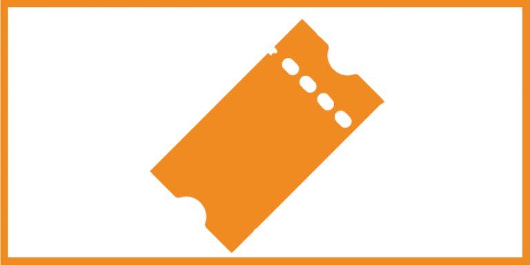 a ticket icon