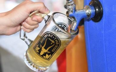 beer mug at brew at the zoo