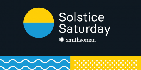 Smithsonian Solstice Saturday Logo