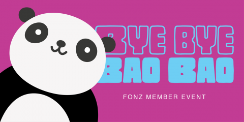 Bye Bye Bao Bao Event Artwork