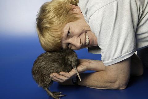 Keeper with a kiwi