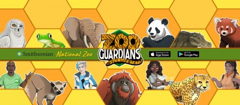 "The furry, feathered and scaly world of zoos, animal care and conservation comes to life in ""Zoo Guardians,"" a new mobile game launched today by the Smithsonian's National Zoo and Conservation Biology Institute in partnership with JumpStart Games."