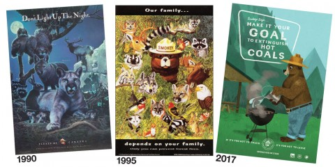 Modern-day Smokey Bear Posters