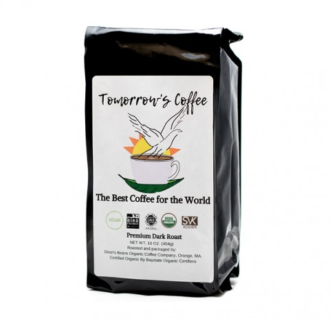 Black bag of Bird Friendly Coffee