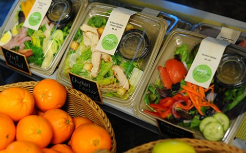oranges and salads