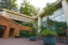 The exterior of the Smithsonian's National Zoo's Amazonia exhibit