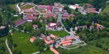 aerial view of SCBI campus