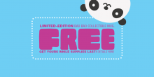 Learn how to get a free Bao Bao mug with a $5 purchase on-site at Smithsonian's National Zoo stores