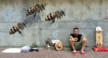 The Good of The Hive artist Matthew Willey