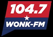 104.7 WONK-FM logo