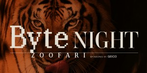 Byte Night Zoofari, sponsored by GEICO