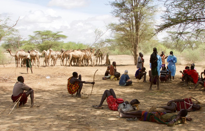The Smithsonian's Global Health Program works closely with local communities in Kenya