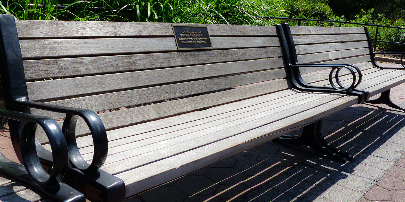 Groovy Commemorative Benches Smithsonians National Zoo Short Links Chair Design For Home Short Linksinfo